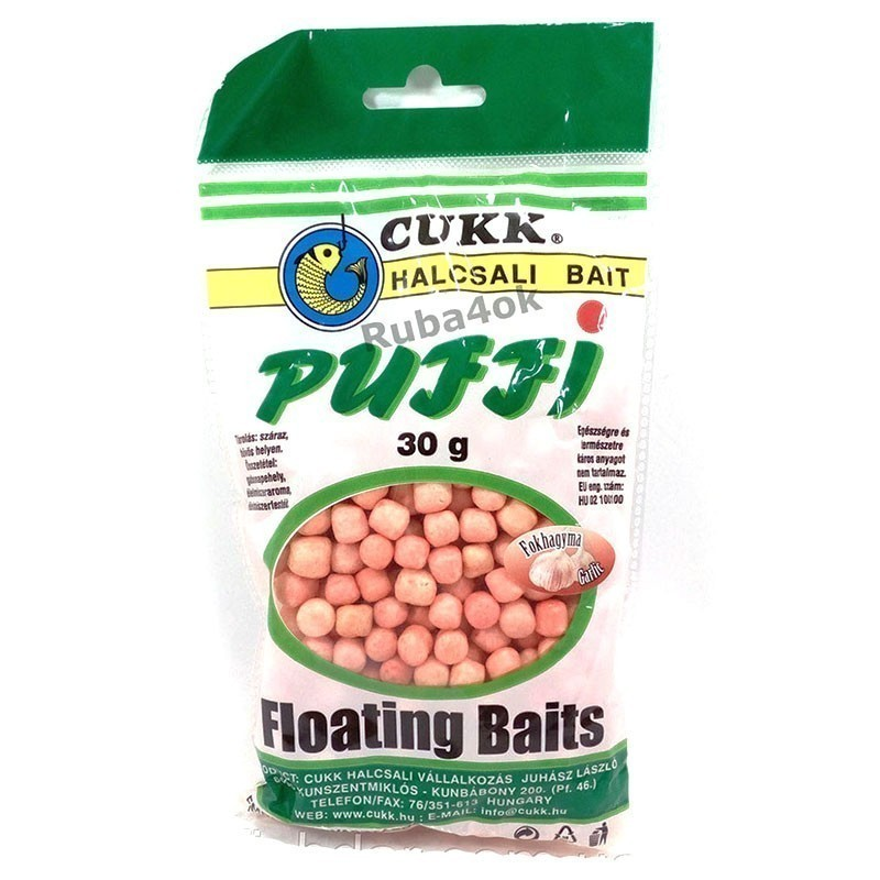 Воздушное тесто Cukk Puffi Garlic (Чеснок)
