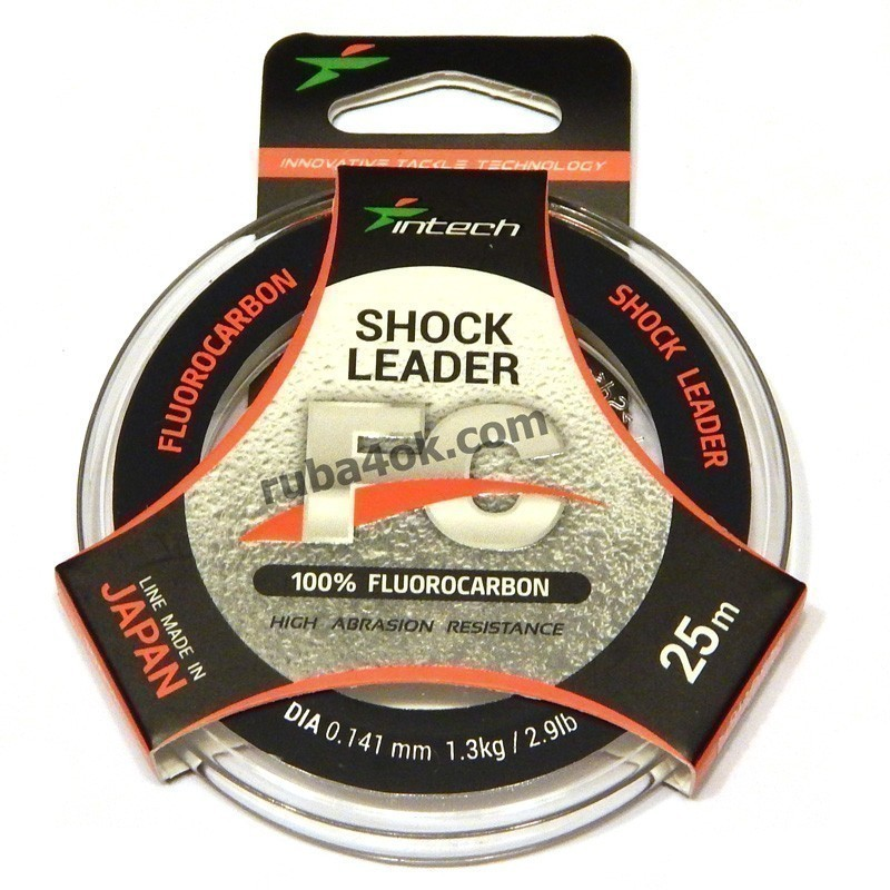 Флюорокарбон Intech Shock Leader 0.141 (25m)