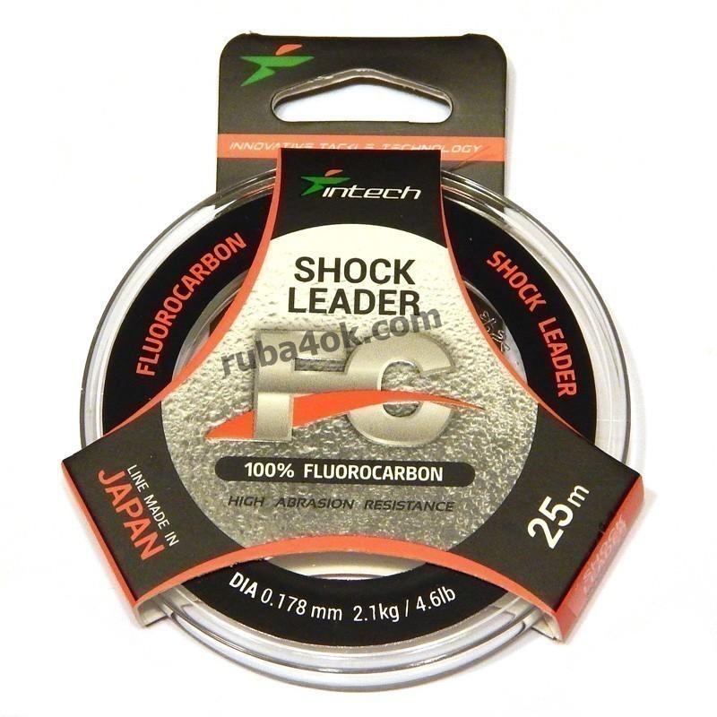Флюорокарбон Intech Shock Leader 0.178 (25m)