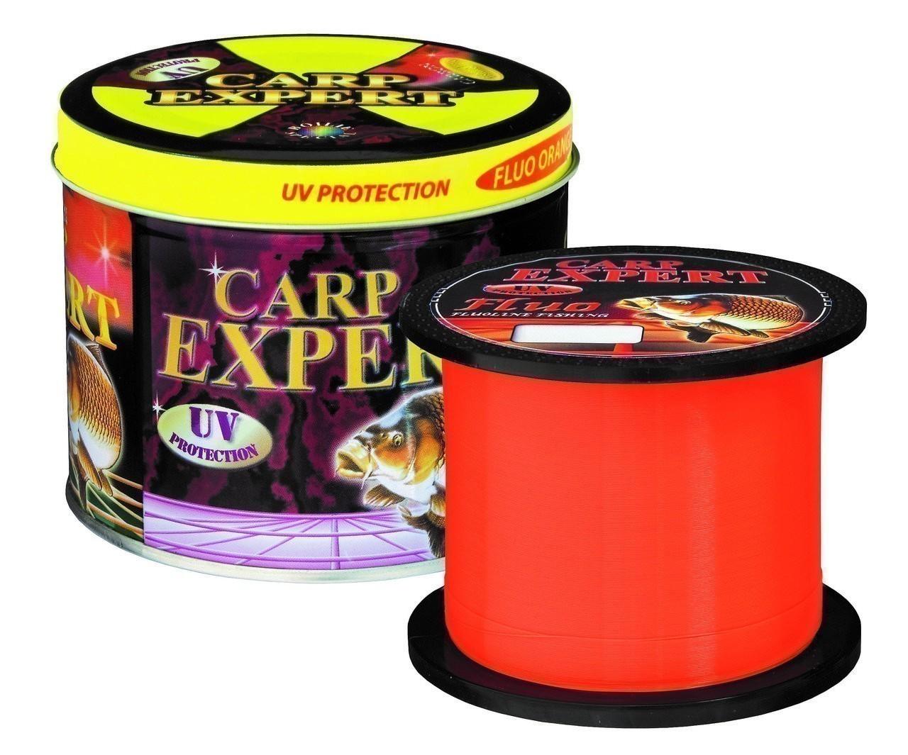 Леска фидерная Carp Expert UV Fluo Orange 1000м