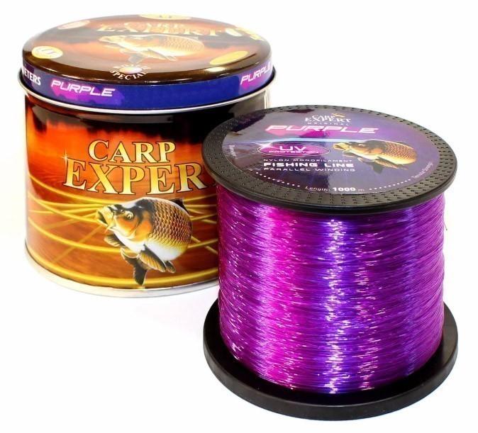 Леска фидерная Carp Expert UV Fluo Purple 1000м