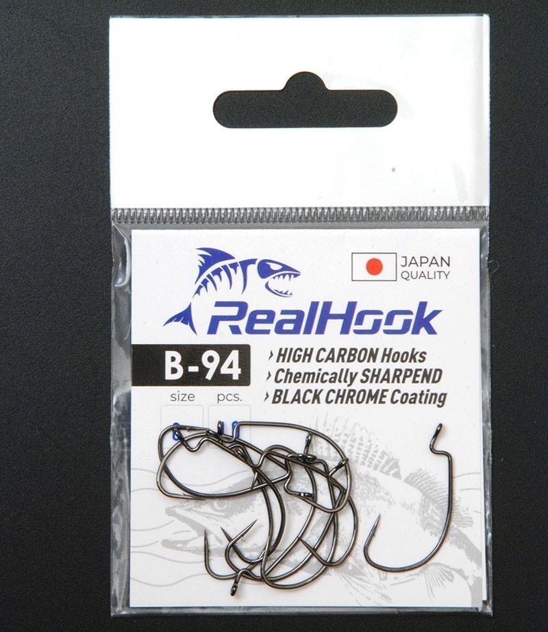 Крючок офсетный RealHook B-94 #1/0 (5шт/уп)