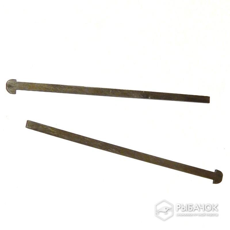 Комплект закладных (шпажек) из нержавейки для изготовления разборных грузил