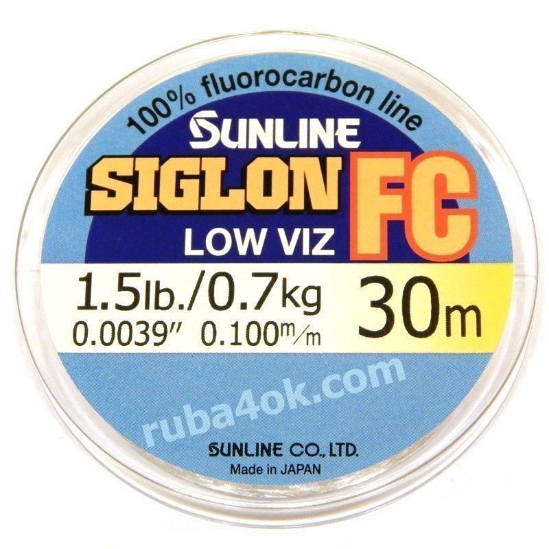 Флюорокарбон Sunline Siglon FC 0.10mm (30m)