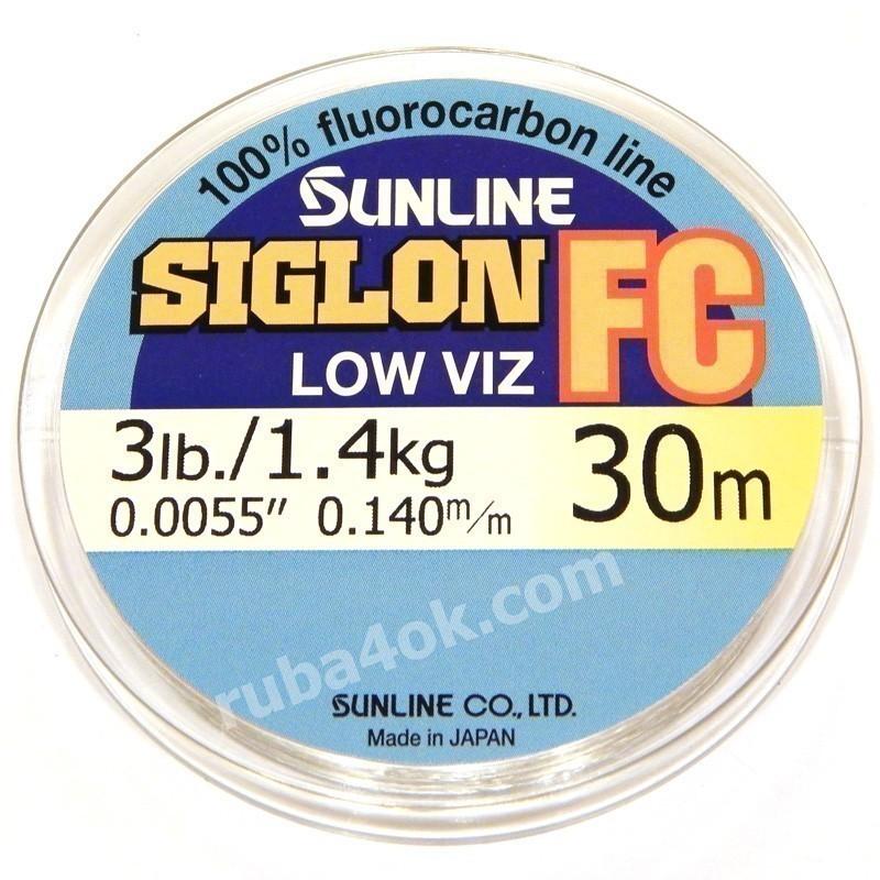 Флюорокарбон Sunline Siglon FC 0.14mm (30m)
