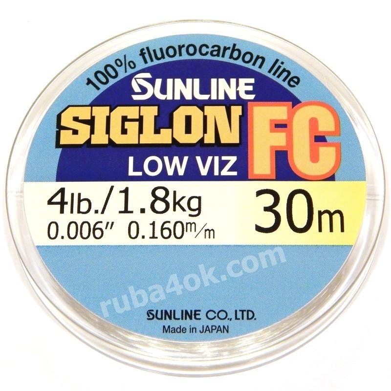 Флюорокарбон Sunline Siglon FC 0.16mm (30m)