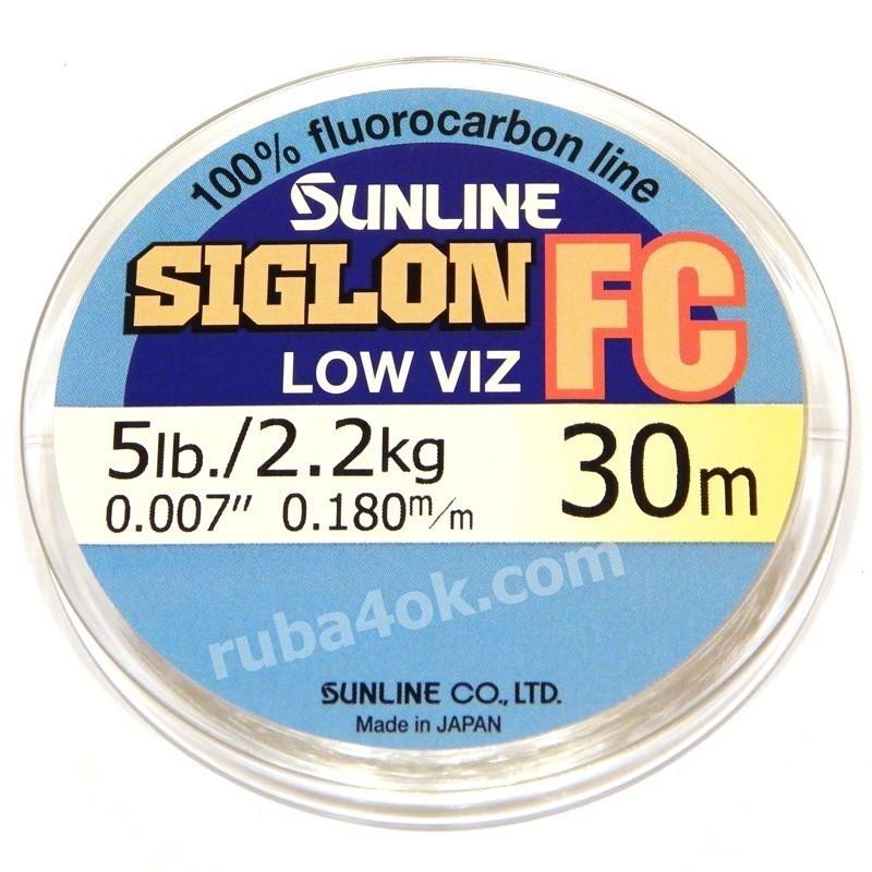 Флюорокарбон Sunline Siglon FC 0.18mm (30m)