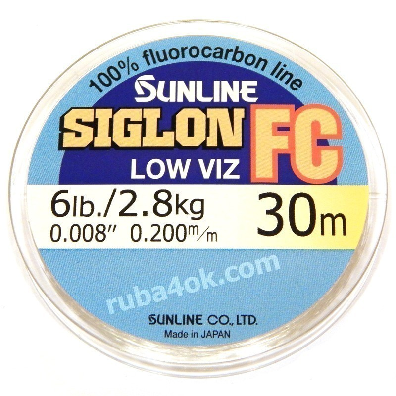 Флюорокарбон Sunline Siglon FC 0.20mm (30m)