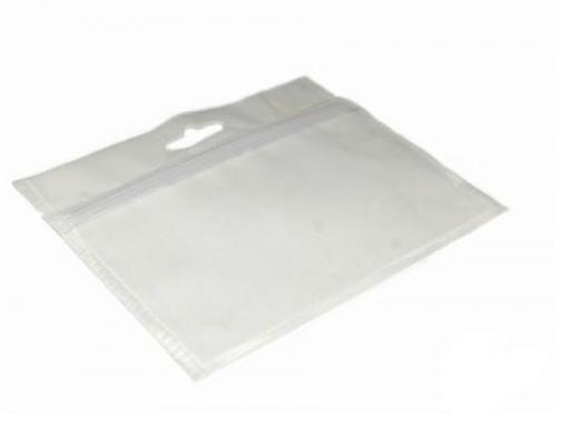 Зип-пакет для хранения приманок прозрачный