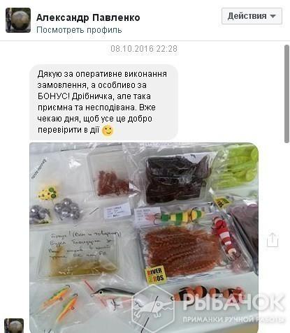 Отзыв Александра Павленко (Facebook)
