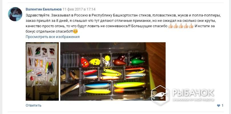 Отзыв Валентина Емельянова